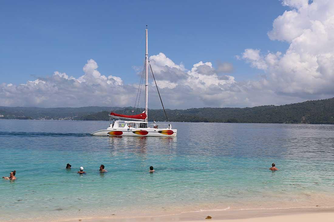 Catamaran Cayo Levantado