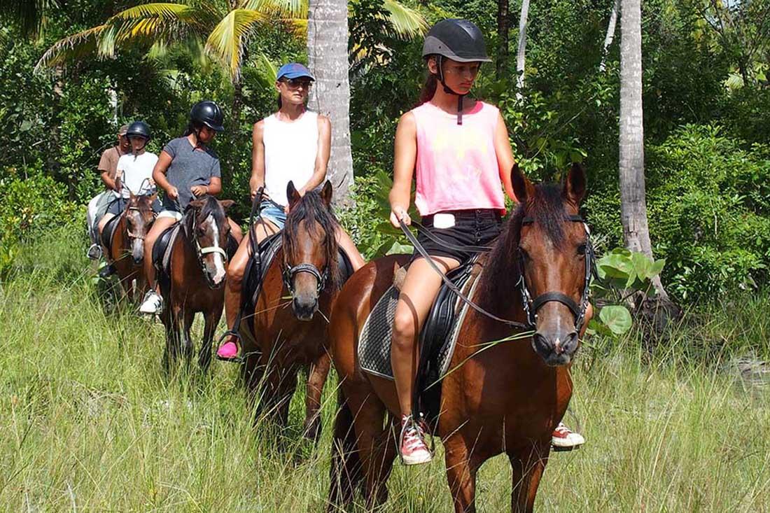Rando cheval plage 1